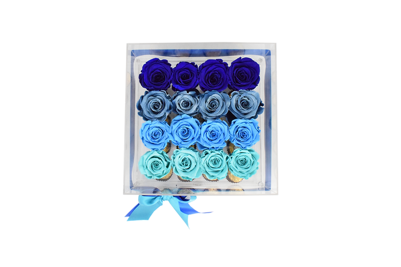 Medium Acrylic Premium Preserved Roses