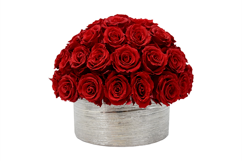 Super Deluxe Red Preserved Roses