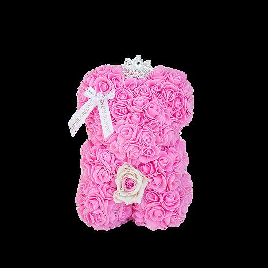 Teddy Bears with Roses (25 cm)