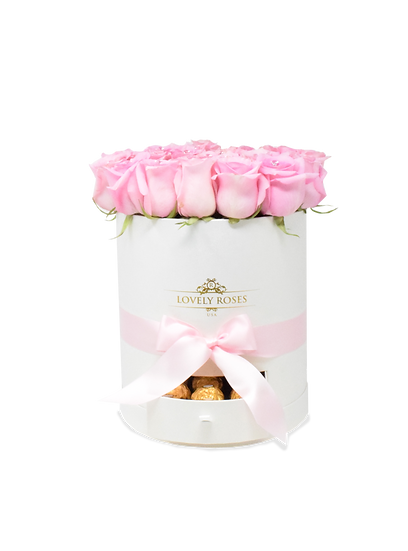 Round Collection Pink Natural Roses/ONLY IN MIAMI