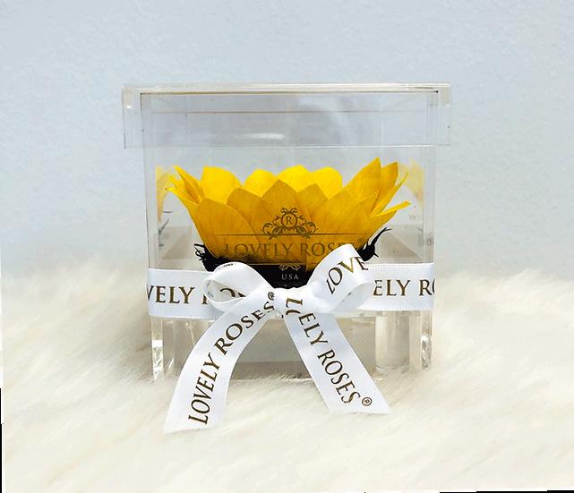 Elegant Crystal One Sunflower