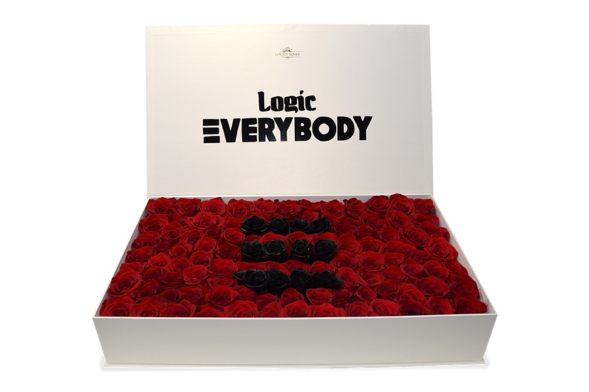 Logic Everybody Celebrity Box Natural Roses (Sample)/DELIVERY ONLY IN MIAMI