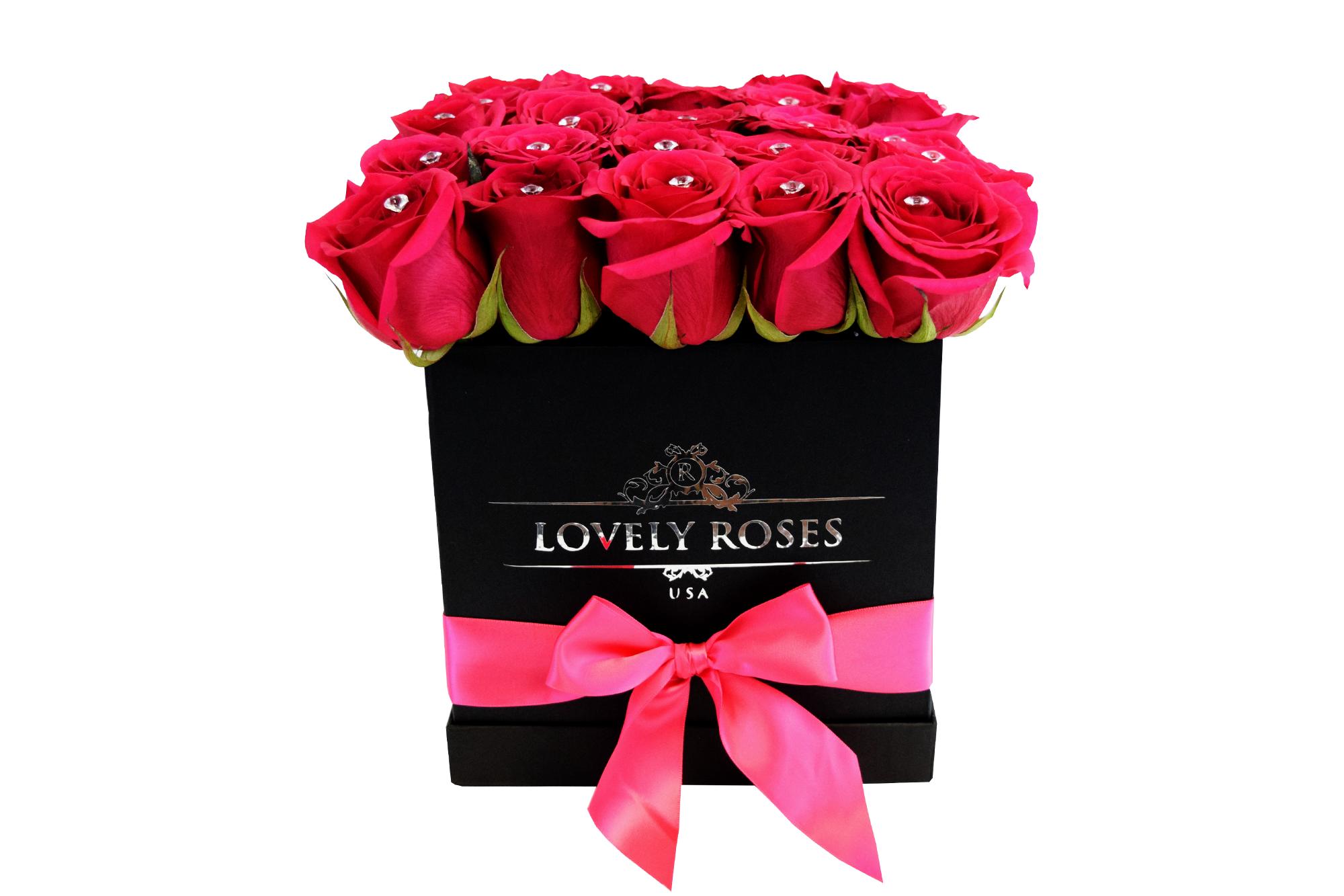 NATURAL ROSES BIG BOX