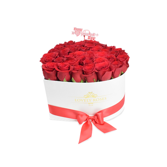 Large Heart Collection Natural Red Roses/ONLY IN MIAMI