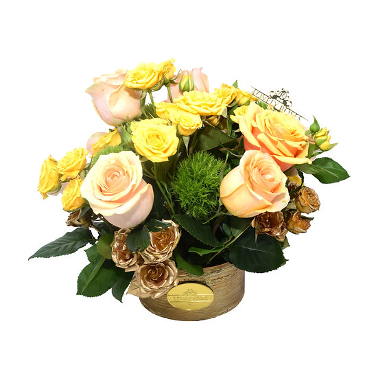 Mother's Day Special Peach Natural Roses/ONLY IN MIAMI
