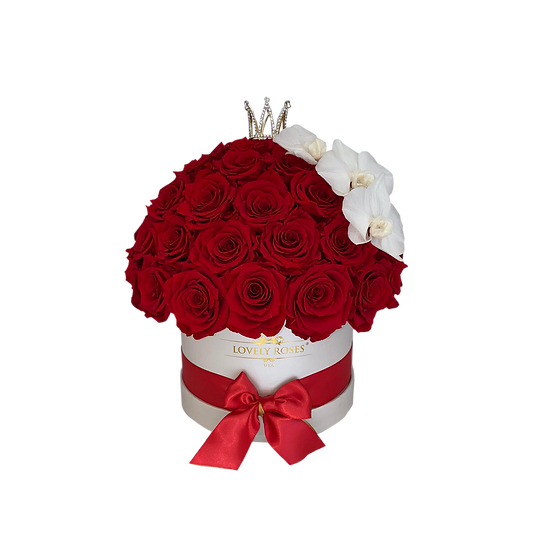 Super Deluxe Preserved Roses and Orchids
