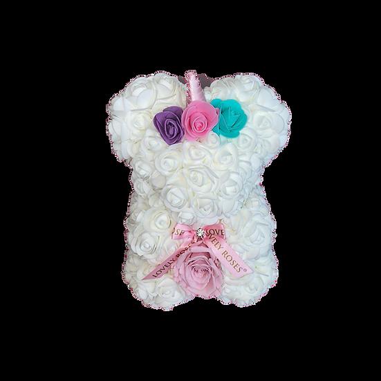 Lovely Teddy Bear 🦄 Unicorn (25 cm)