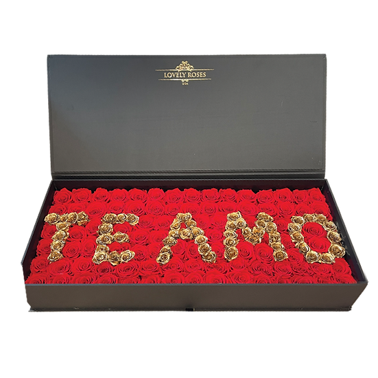 Te Amo Celebrity Box - Preserved Roses (ONLY MIAMI)