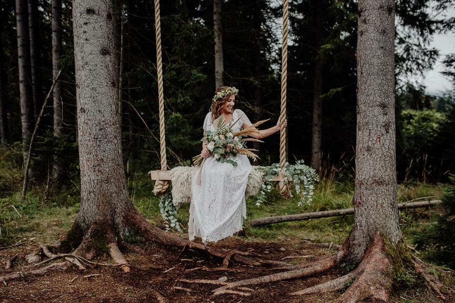 wesele ziebowka zakopane rustykalny boho