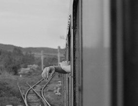 Waiting on a Train: Romania - 2018