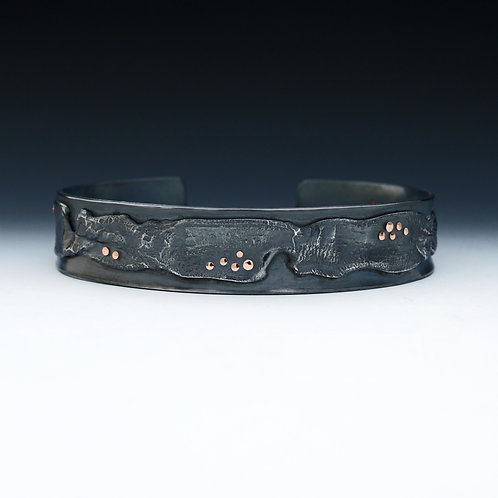Midnight River Cuff
