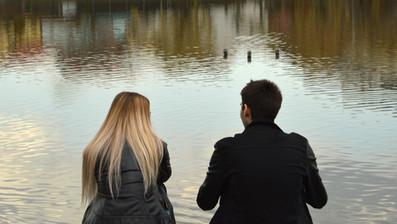 Couple at Dusk: Cluj - 2018