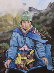 Woman of the Andes - 2016