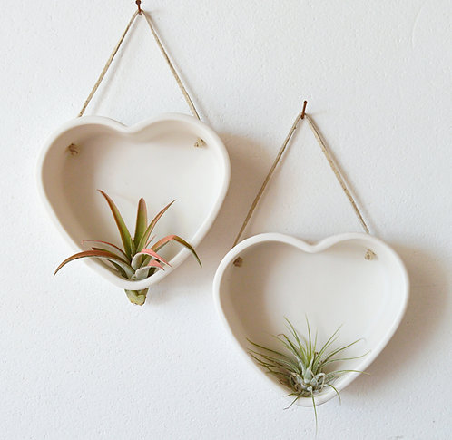 Heart Air Plant Holder