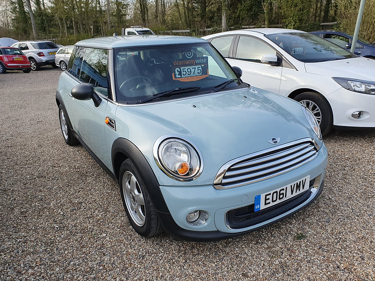 2011 Mini One 1.6 *SOLD*