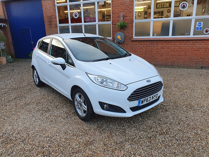2013 Ford Fiesta 1.25 Zetec 5dr *SOLD*