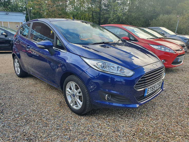 2016 Ford Fiesta 1.25 Zetec 3dr *SOLD*