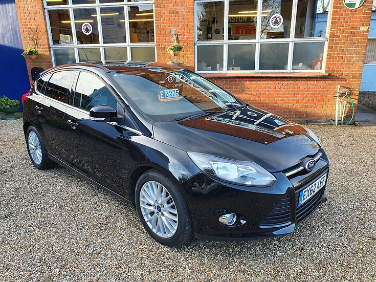 2012 Ford Focus 1.0 SCTi EcoBoost Zetec 5dr *SOLD*