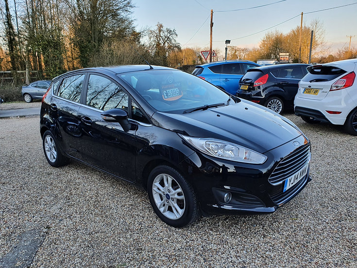 2014 Ford Fiesta 1.25 Zetec 5dr *SOLD*