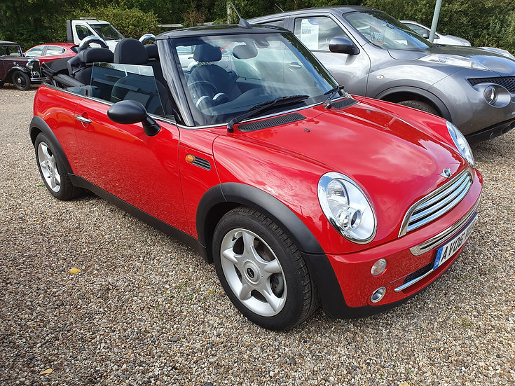 2006 Mini One Convertible 1.6 2dr *SOLD*