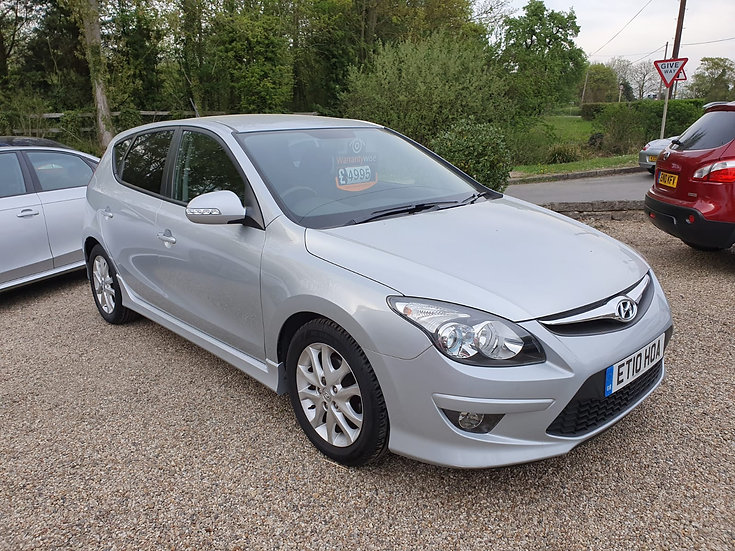 2010 Hyundai i30 1.4 Edition *SOLD*