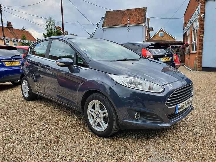 2013 Ford Fiesta 1.0 EcoBoost Zetec (s/s) 5dr *SOLD*