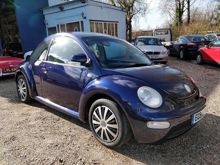 2002 Volkswagen Beetle 1.6 *SOLD*