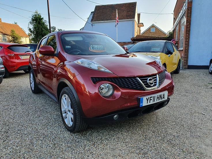 2011 Nissan Juke 1.5 dCi Tekna 5dr *SOLD*