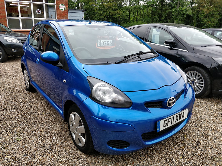 2011 Toyota Aygo 1.0 VVT-i Blue *SOLD*