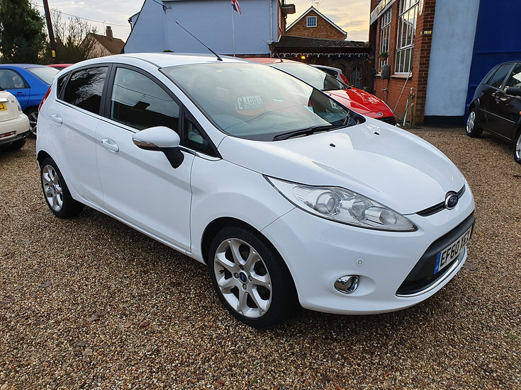 2011 Ford Fiesta 1.4 Zetec 5dr *SOLD*