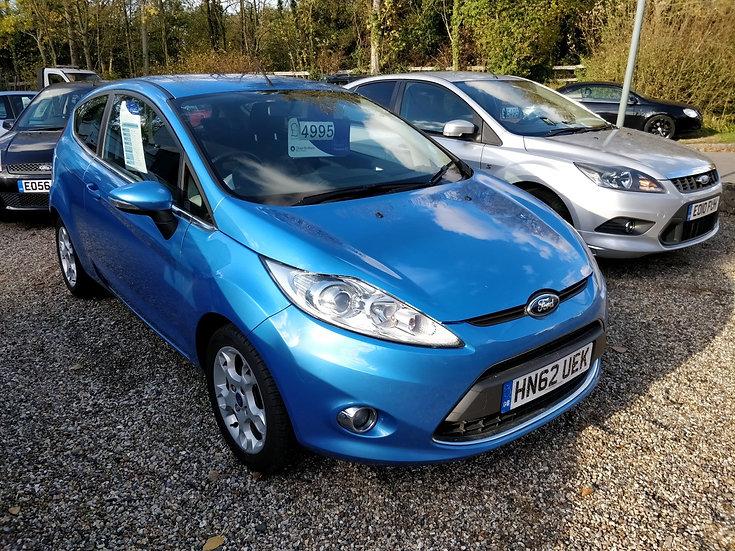 2012 Ford Fiesta 1.25 Zetec *SOLD*