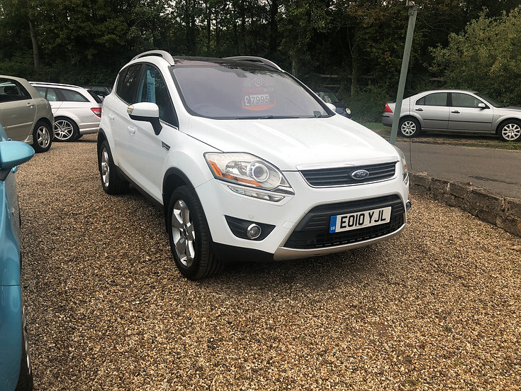 2010 Ford Kuga 2.0 TDCi Titianium X *SOLD*