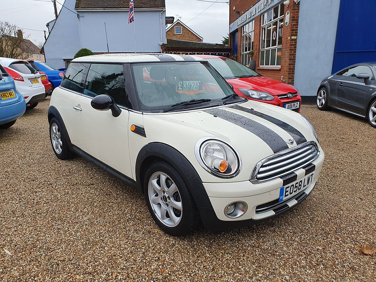 2008 MINI Hatch 1.4 One 3dr *SOLD*