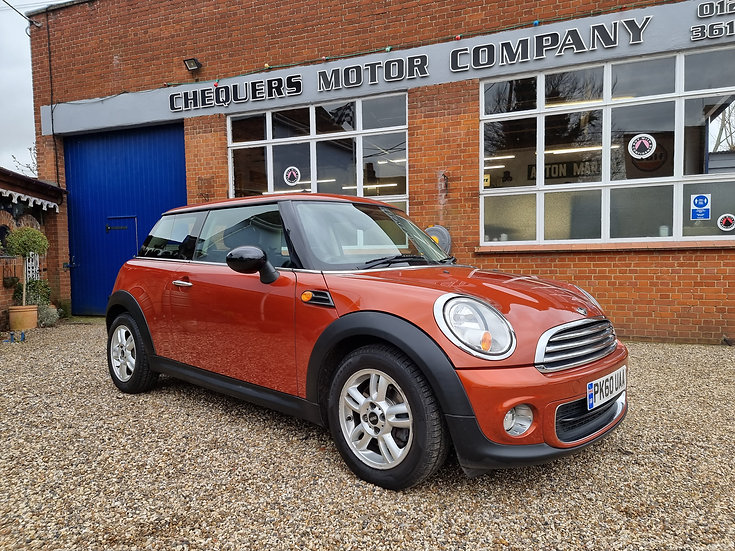 2010 MINI Hatch 1.6 One (Pepper) 3dr *SOLD*