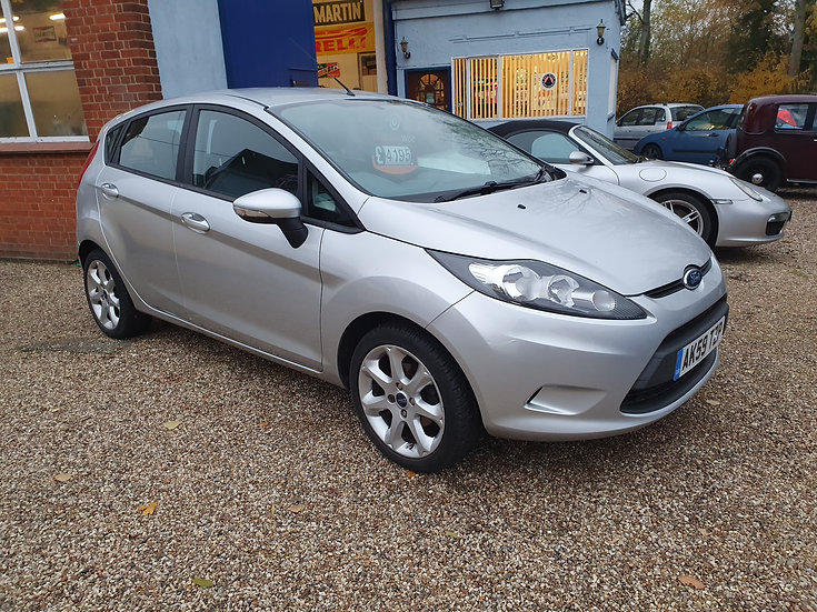 2009 Ford Fiesta 1.4 Style+ 5dr *SOLD*