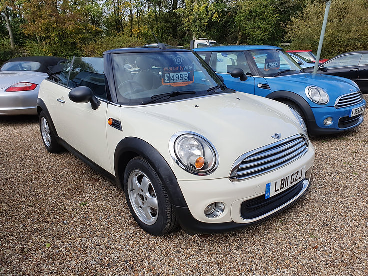 MINI Convertible 1.6 One (Salt) 2dr *SOLD*