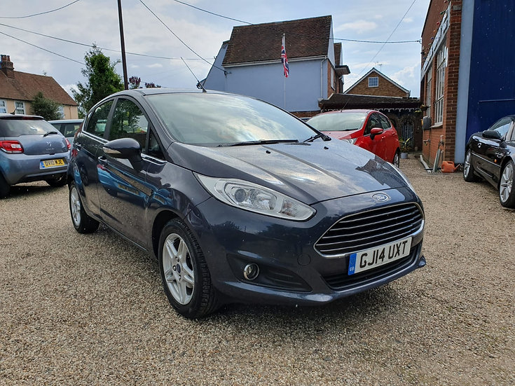 2014 Ford Fiesta 1.25 Zetec *SOLD*