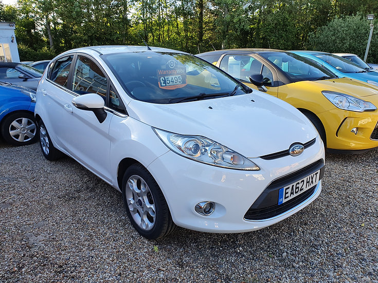 2012 Ford Fiesta 1.25 Zetec *SOLD*