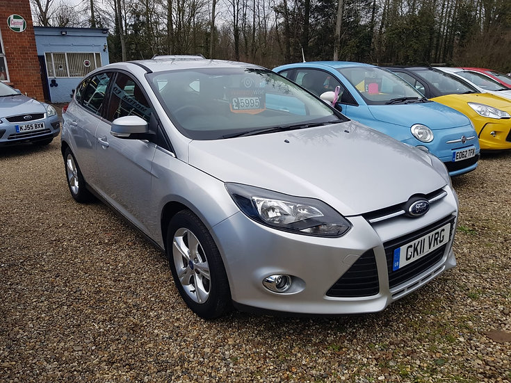 2011 Ford Focus 1.6 Zetec *SOLD*