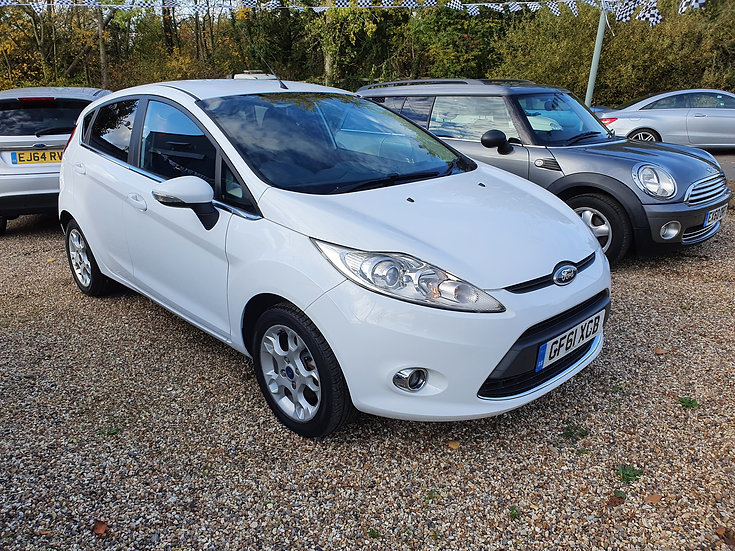 2012 Ford Fiesta 1.25 Zetec 5dr *SOLD*