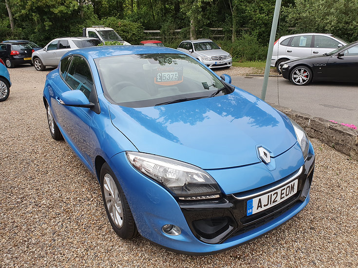 2012 Renault Megane Coupe 1.5 dCi Dynamique Tom Tom *SOLD*