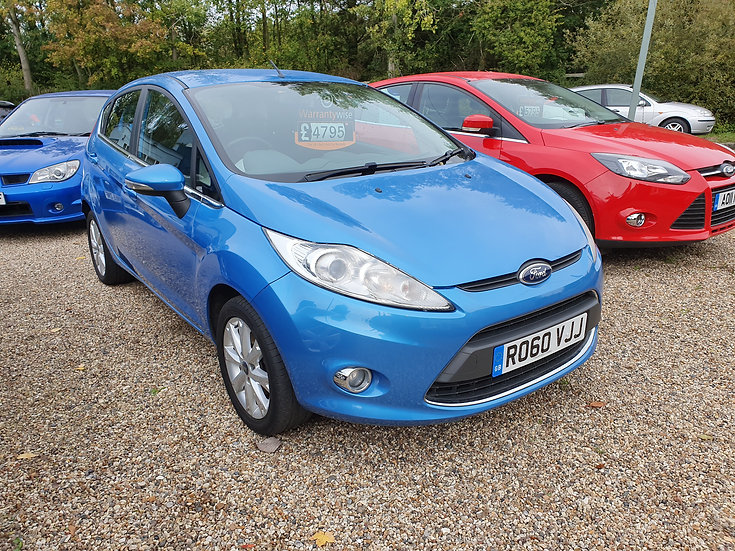 2010 Ford Fiesta 1.25 Zetec 3dr *SOLD*
