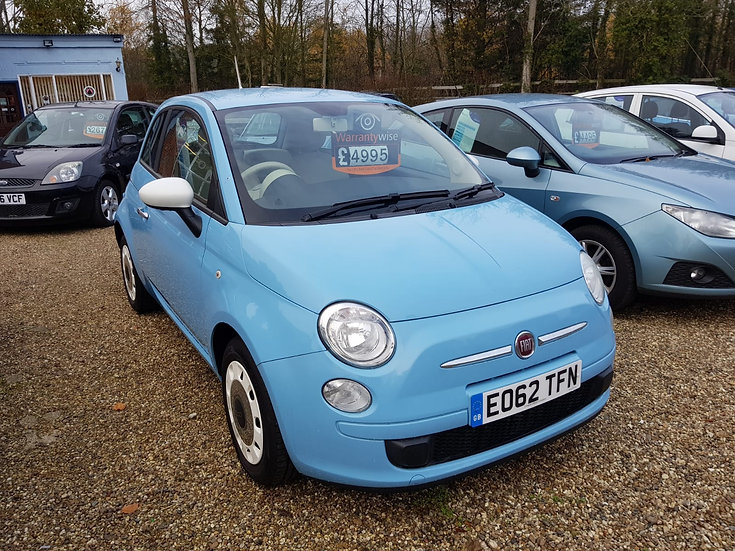 2012 Fiat 500 1.2 'Colour Therapy' Edition *SOLD*