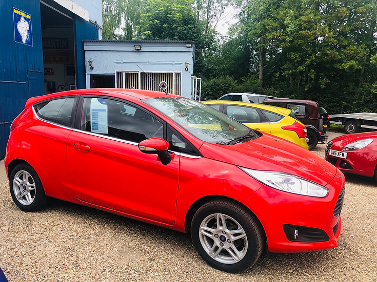 2013 Ford Fiesta 1.25 Zetec *SOLD*