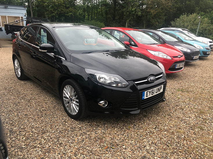 2011 Ford Focus 1.6 125 Zetec *SOLD*