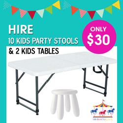 Kids Stools & Tables