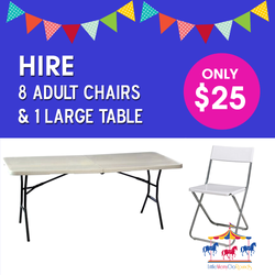 Adult Chairs & Tables