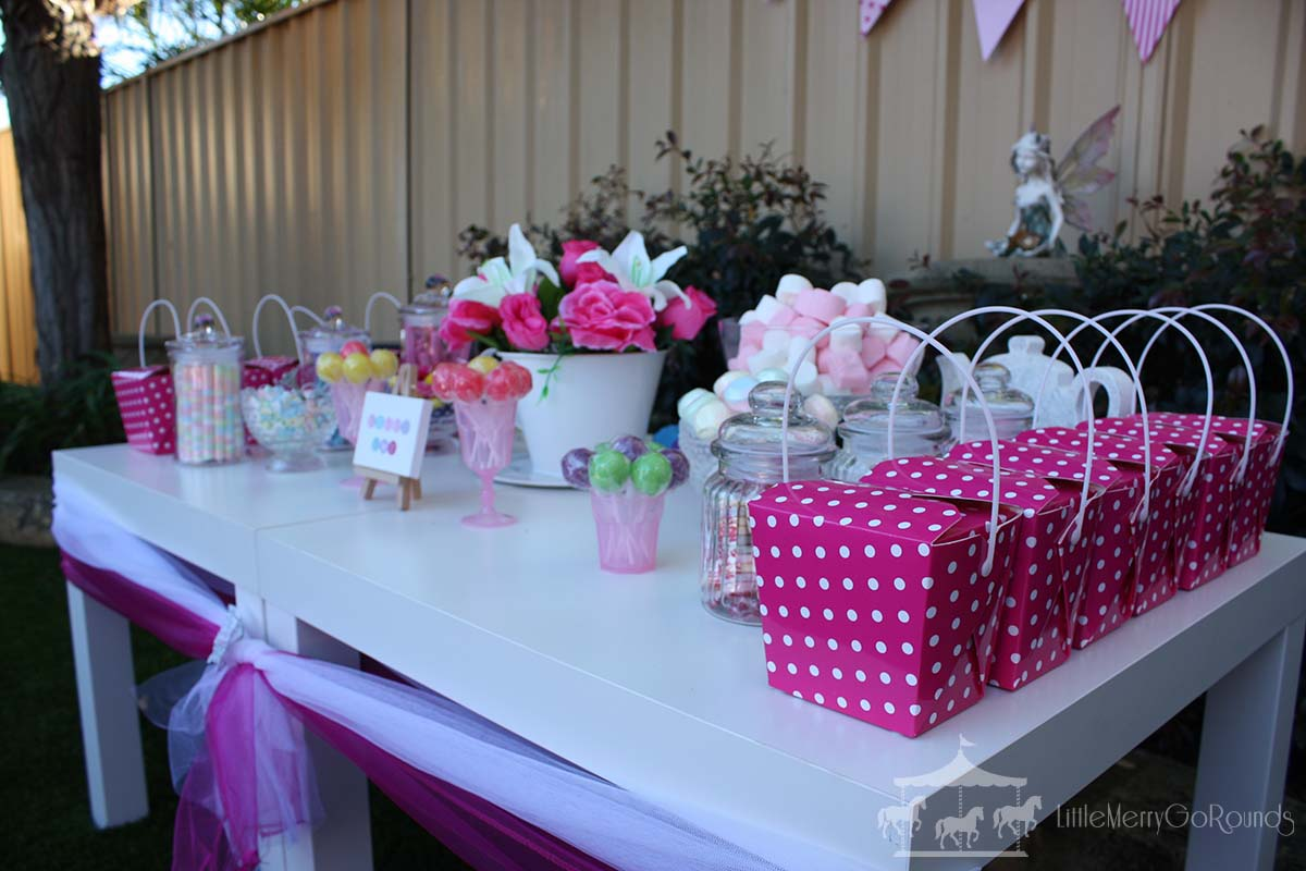 Tea Party Lolly Bar