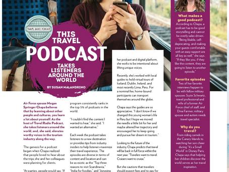 Military Families Magazine Features Travel Radio Podcast