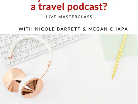 Upcoming: Podcasting Masterclass